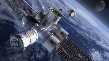 Un hotel di lusso nello spazio (Foto: Orion Span)