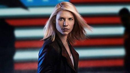 Claire Danes è l'agente Mathison in Homeland - foto Fox