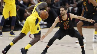 Basket:Playoff Nba,Cleveland-Indiana 100-97,serie in parità