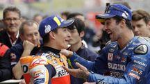 MotoGp, Marquez vince ad Austin. Iannone sul podio (Ansa)