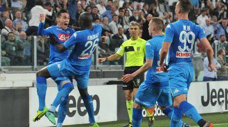 Juve-Napoli 0-1, gol di Koulibaly (Newpress)