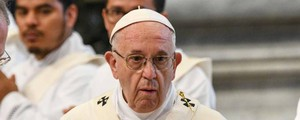 Papa Francesco (Afp)