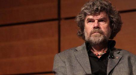Reinhold Messner al XXIII Salone internazionale del libro di Torino – Foto: LaPresse