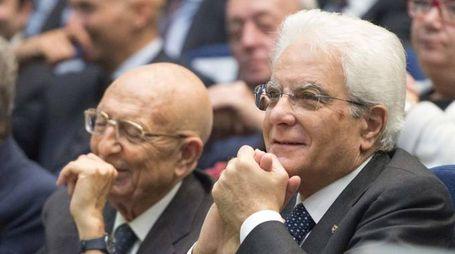 Sabino Cassese e Sergio Mattarella