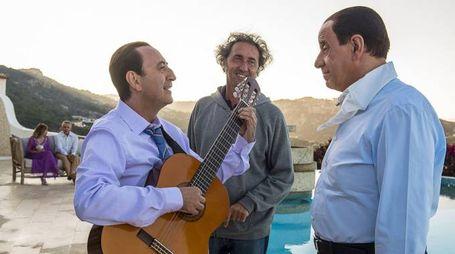 Sorrentino e Servillo sul set di 'Loro 1' – Foto: Indigo Film