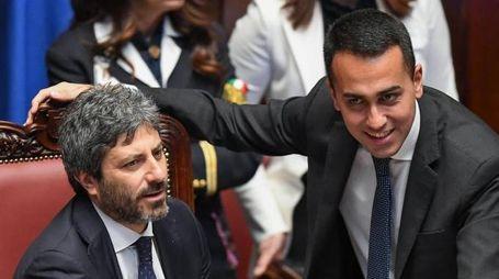 Roberto Fico e Luigi Di Maio (Ansa)