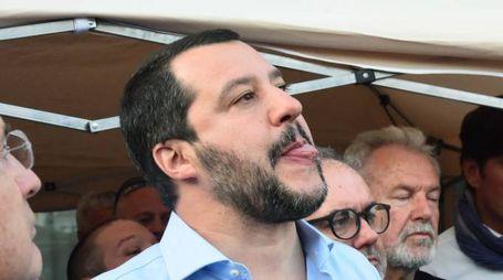 Il leader della Lega, Matteo Salvini (Lapresse)