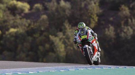 MotoGp, Crutchlow sul circuito di Jerez (Ansa)
