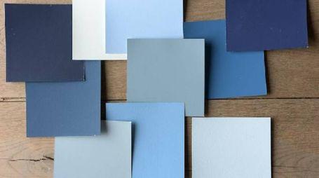 Variazioni in blu per la casa al mare