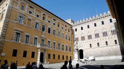 La sede di Banca Monte dei Paschi di Siena (Imagoeconomica)