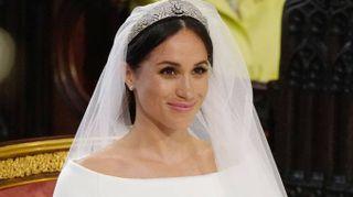 Meghan Markle, l'abito da sposa: un incanto