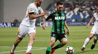 Sassuolo-Roma 0-1