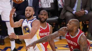 Basket: Nba, Golden State-Houston 126-85, 2-1 Warriors