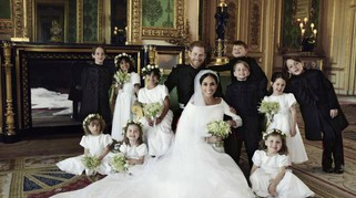 Matrimonio Harry e Meghan Markle, ecco le foto ufficiali del Royal wedding