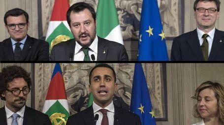 Governo, le delegazioni di Lega e 5 stelle dopo l'ultima consultazione al Colle