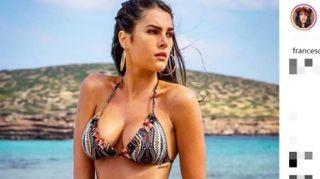 Francesca Sofia Novello, l'estate è già hot con la fidanzata di Vale Rossi