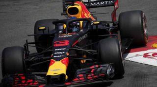 F1:Monaco,Ricciardo vola in 3/e libere, terza Ferrari Vettel