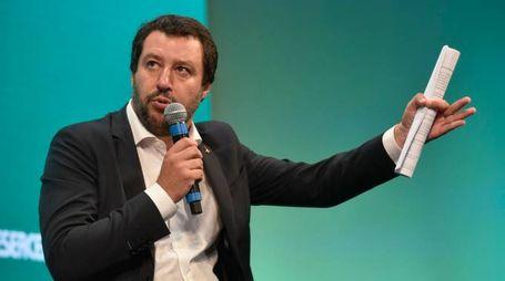 Matteo Salvini all'assemblea di Confesercenti (Imagoeconomia)
