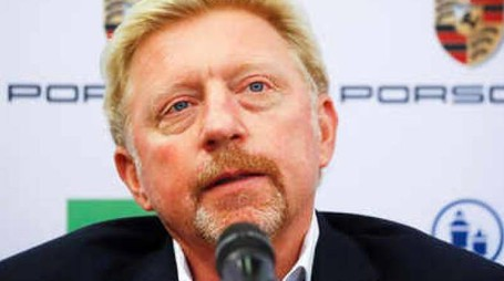 Boris Becker ha trionfato tre volte a Wimbledon (Dire)
