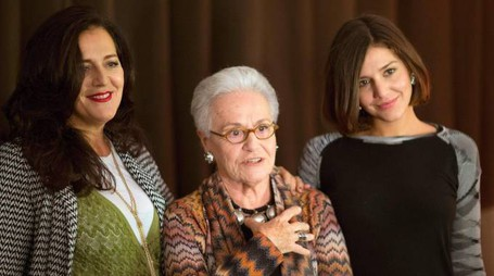 Margherita Missoni, Rosita Missoni e Angela Missoni  (Ansa)