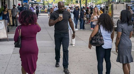 Una scena di 'Luke Cage', stagione 2 episodio 1 – Foto: David Lee/Netflix