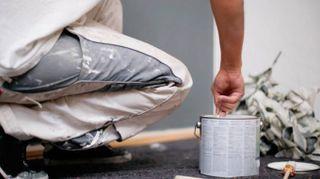 Tinteggiatura delle pareti di casa