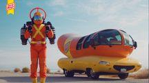 Il Super Hotdogger e la Wienermobile