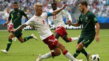 Danimarca- Australia 1-1 (Ansa)