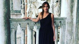 Maria Elena Boschi in abito da sera. Il look che incanta Venezia (e Instagram)