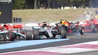 F1: Francia, vince Hamilton, terza Ferrari Raikkonen