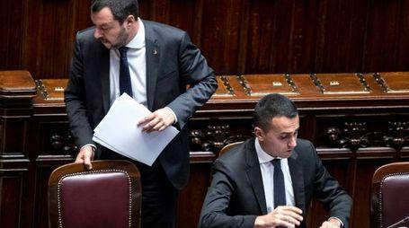 Matteo Salvini e Luigi Di Maio (Lapresse)