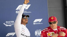 Lewsi Hamilton e Kimi Raikkonen (Ansa)