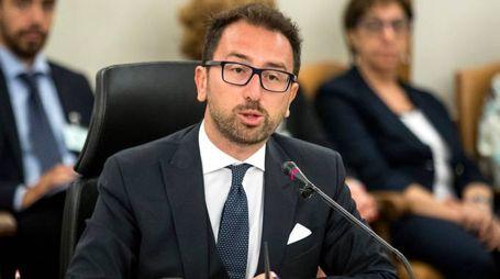 Il ministro della Giustizia Alfondo Bonafede (Lapresse)