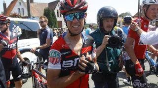 Tour de France 2018, Richie Porte si ritira. Le foto della caduta