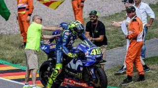 Moto: Germania, vince Marquez, poi Rossi