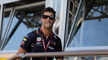 Daniel Ricciardo al Gp di Germania 2018 (Foto LaPresse)