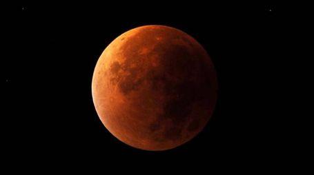 L'ultima eclissi lunare del 28 settembre 2015