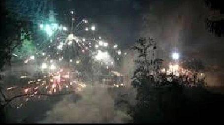 Val di Susa, scontri nella notte tra No Tav e polizia (Ansa)
