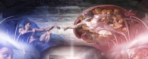 Lo spettacolo 'Giudizio Universale. Michelangelo and the secrets of the Sistine Chapel'