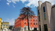 Nel centro storico di Tirana