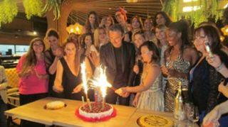 Beppe Convertini, compleanno a Roma tra vip e cucina fusion