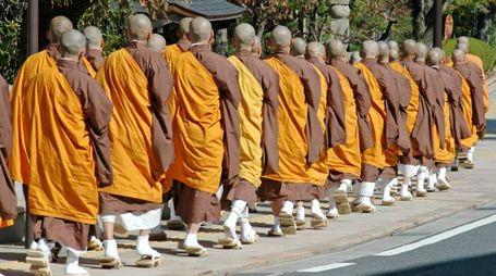 I monaci del Monte Koya, in Giappone - Foto: PhilAugustavo/iStock