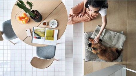 Un mini appartamento moderno