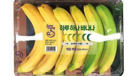 Le banane a maturazione graduale - Foto: E-Mart / emart.ssg.com