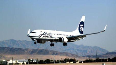 Un velivolo di Alaska Airlines