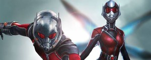 Dettaglio di un poster di 'Ant-Man and the Wasp' – Foto: Marvel Studios