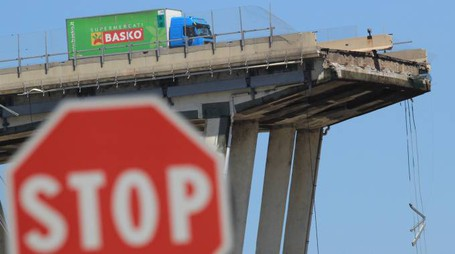 Ponte Autostrade Genova (Newpress)