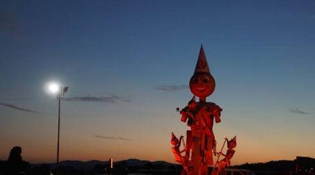 Pinocchio è alto 11 metri!
