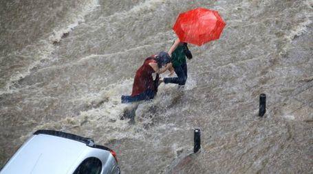 Previsioni meteo, nubifragi e brutto tempo nel fine settimana (foto archivio iStock)