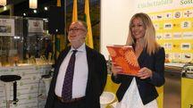 Edoardo Raspelli e Sara Colonna